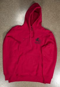 Red Heavy Weight Hoodie